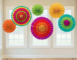 wholesale decorative foldable tissue paper fan flower craft
