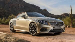 2018 mercedes benz e class cabriolet first ride motor1 com photos