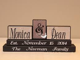 engagement gift from parents family established wood sign anniversary gift custom wedding