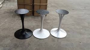 2017 sale table pedestals cast iron tulip restaurant table