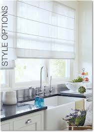 hunter douglas design studio roman shades in sheer fabric