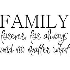 no matter what gets in the way and tries to pull a family apart