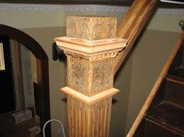 decor u0026 tips beautiful staircase design with newel post and