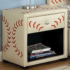Baseball Bunk Beds Baseball Bunk Bed W Drawers Nightstand And Mattress Bundle