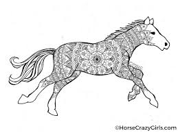 horse coloring pages and printables
