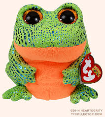 speckles ty beanie boo frog