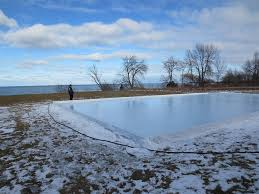 Build A Backyard Ice Rink Should I Build My Rink In The Yard Or On A Pond