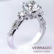 designer wedding rings classical three diamond engagement ring design with the stylish