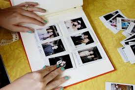 Photo Album Guest Book Our Handmade Wedding Guestbook U2013 A Beautiful Mess