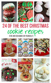 24 of the best christmas cookie recipes for an exchange or