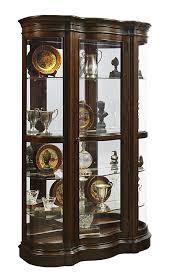 curio cabinet curio cabinet furniture ashley corner row fearsome