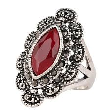 aliexpress buy mens rings black precious stones real men rings big black precious stones antique silver ring for men