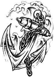 beautiful feet chain design with heart cross anchor tattoo photo