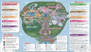 mickey u0027s very merry christmas party 2012 guide map photo 2 of 2