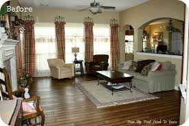Farmhouse Livingroom From My Front Porch To Yours French Farmhouse Living Room Reveal