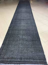 Navy Blue Runner Rug Overdyed Runner Rug Hallway Runner Stair Runner Navy Blue Long