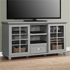 tv unit with glass doors belham living hampton 55 inch tv stand white tv stands at