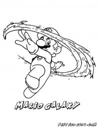 printable mario galaxy coloring pages printable coloring pages