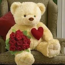 big teddy buy big roses bunch with teddy online best prices in