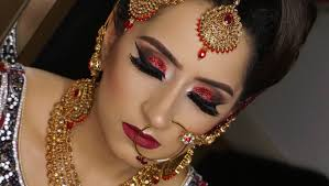 2016 asian bridal hair and makeup by farah khan real brid asian bridal makeup latest indian punjabi