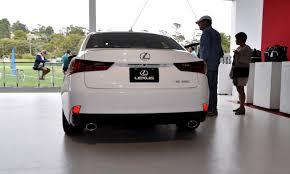 lexus is250 f sport 2 door car revs daily com 2015 lexus is250 f sport crafted line 18