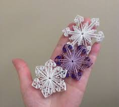 quilling designs tutorial pdf snowflake quilling pattern decoration christmas ornament tutorial