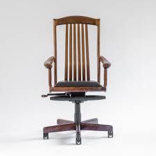 Handmade Office Furniture by Niobrara Office Chair Handmade Office Chairs Erickson Woodworking