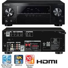 av receiver home theater amazon com pioneer vsx 530 k 5 1 channel av receiver with dolby