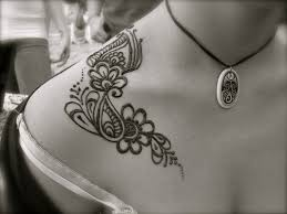 image gallery neck henna tattoos