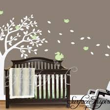 Sports Nursery Wall Decor Wall Decals Modern Baby Room Tree Wall Sticker Sports
