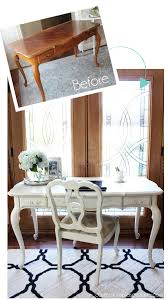 Chalk Paint Desk by French Provincial Desk Makeover Confessions Of A Serial Do It