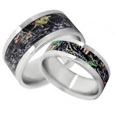 Camo Wedding Ring Sets by 76 Best Camo Wedding Rings Images On Pinterest Camo Wedding