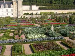Kitchen Herb Garden Design Herbal Travels Château De Villandry And Kitchen Gardens