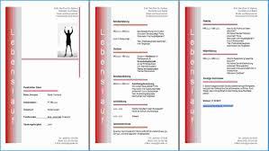 Lebenslauf Vorlage Gratis Gratis Lebenslauf Vorlage Muster Und Beispiel Kostenlos
