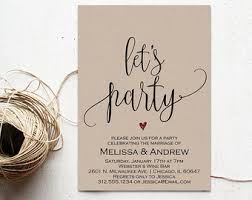 elopement invitations elopement etsy