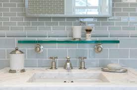 Sink Shelves Bathroom Bathroom Ideas Grey Subway Tile Bathroom With Sinks White