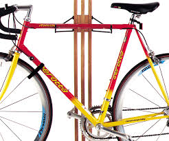 Bike Hanger Ceiling by Stylish Wooden Apartment Bike Rack Storeyourboard Com