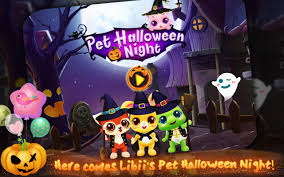 halloween night wallpaper pet halloween night android apps on google play
