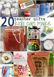 20 gifts for teachers kids can make teacher students and gift