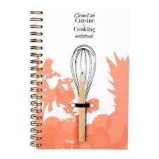 cahier de cuisine vierge acheter cahier de recette vierge reine mère