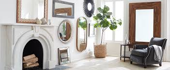 Decorating With Mirrors Ideas For Decorating With Mirrors Crate And Barrel