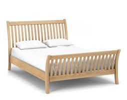 Curved Bed Frame Corndell Nimbus 6ft King Size Curved Bed Frame 1253