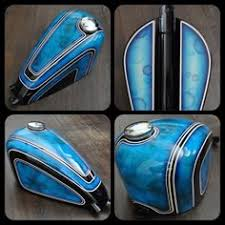 what do you think of this motorcycle tank paint job more old