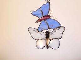 stained glass butterfly ornaments universal health resources
