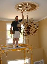 What Size Ceiling Medallion For Chandelier Ceiling Plaster Ceiling Medallion Ceiling Medallions Lowes