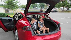 tesla model 3 interior seating tesla model s with 5 2 seating 2 rear facing seats have built in