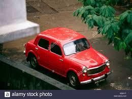 indian car mak 85583 old antique indian car red fiat model 1960 india stock