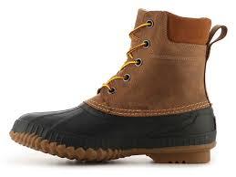 sorel cheyanne snow boot brown black men high tech materials