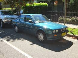 Bmw 318i 1985 Aussie Old Parked Cars 1990 Bmw 318i 4 Door E30