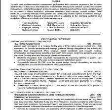 download health administration sample resume